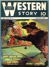 Western Story Magazine Pulp August 9 1941- Billiards cover FN - $81.97