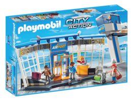 Playmobil Airport with Control Tower 5338 - $85.00