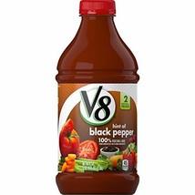 V8 Original with Hint of Black Pepper 100% Vegetable Juice, 46 oz. Bottl... - $717,31 MXN