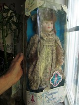 Buttons & Bows Cloth Doll Laura Button Jointed Arms & Legs Hand Painted ... - $18.00