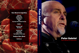 PETER GABRIEL - NEW BLOOD IN ARGENTINA DVD - $23.50