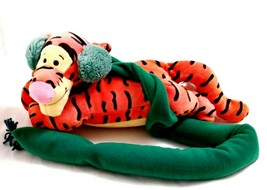 Stuffed Tigger Plush Winter Draft Stopper Disney - $27.72