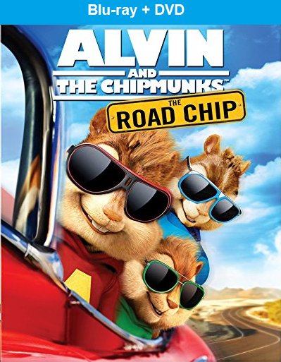 Alvin and the Chipmunks: The Road Chip Blu-ray+DVD New