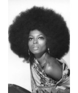 Diana Ross Afro Hairstyle 1970's Shoot Striking Image 18x24 Poster - £17.44 GBP