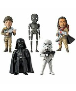 Rogue One / Star Wars Story World Collectable Figure Whole Set Of 5F/S - $95.67