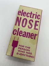 VINTAGE ELECTRIC NOSE CLEANER FOR THE PERSON WHO HAS EVERYTHING  NOVELTY... - $14.84