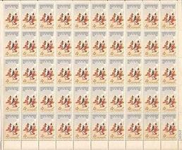USPS Fredric Remington Smoke Signal Sheet of 50 x 4 Cent Stamps Scott 1187 - $9.99