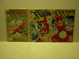 "THE FLASH - #83 - 85 ""RAZER"" + #88 - 90 DC COMICS - FREE SHIPPING - $18.70"