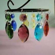 15Pcs Chandelier Drop Pendant 38mm Wedding Crystal Prisms Bead Hanging Part - $14.20+