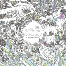 The Magical Journey: A Colouring Book (Magical Colouring Books) Cullen, ... - $9.89
