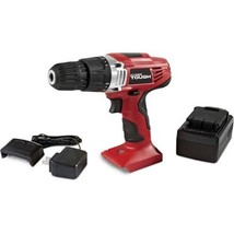 Hyper Tough 18V Ni-Cd Cordless Drill With Electric Brake And LED Work Light - $45.98