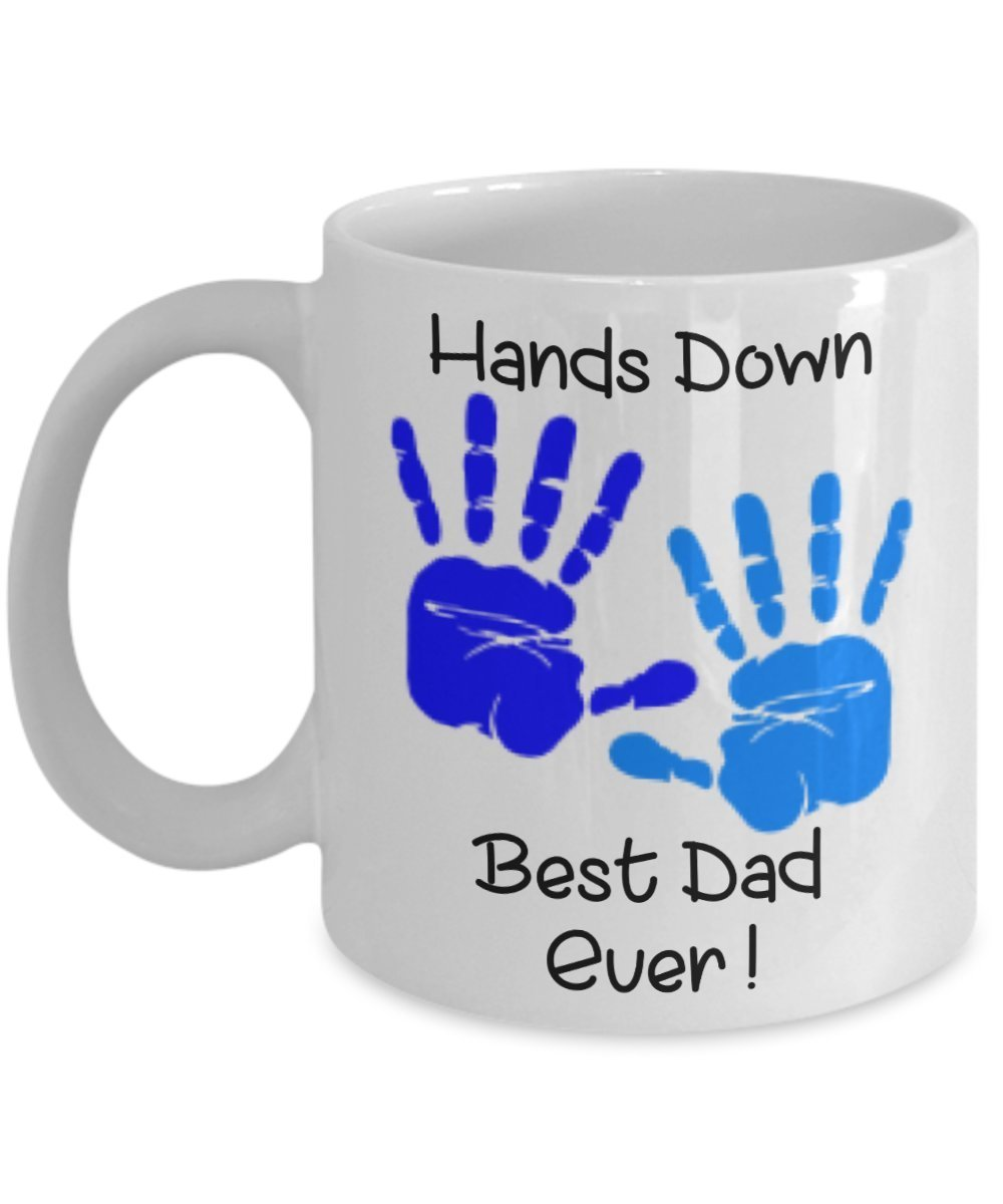 Primary image for Hands Down Best Dad Ever Coffee Mug 11 oz