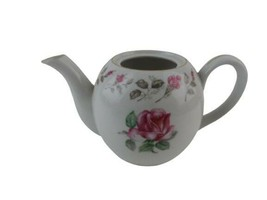 Moss Rose Vintage Diamond China Made in Japan No lid Home Decor Item - $17.32