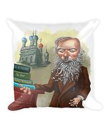 Simply Charly Fyodor Dostoevsky Square Pillow - $34.30