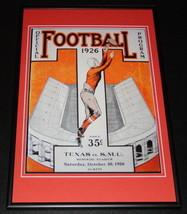 1926 Texas Longhorns vs SMU Football Framed 10x14 Poster Official Repro - $46.39