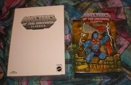 Faker MOTUC Masters of the Universe Classics MOSC MOC He-Man Skeletor - $85.00