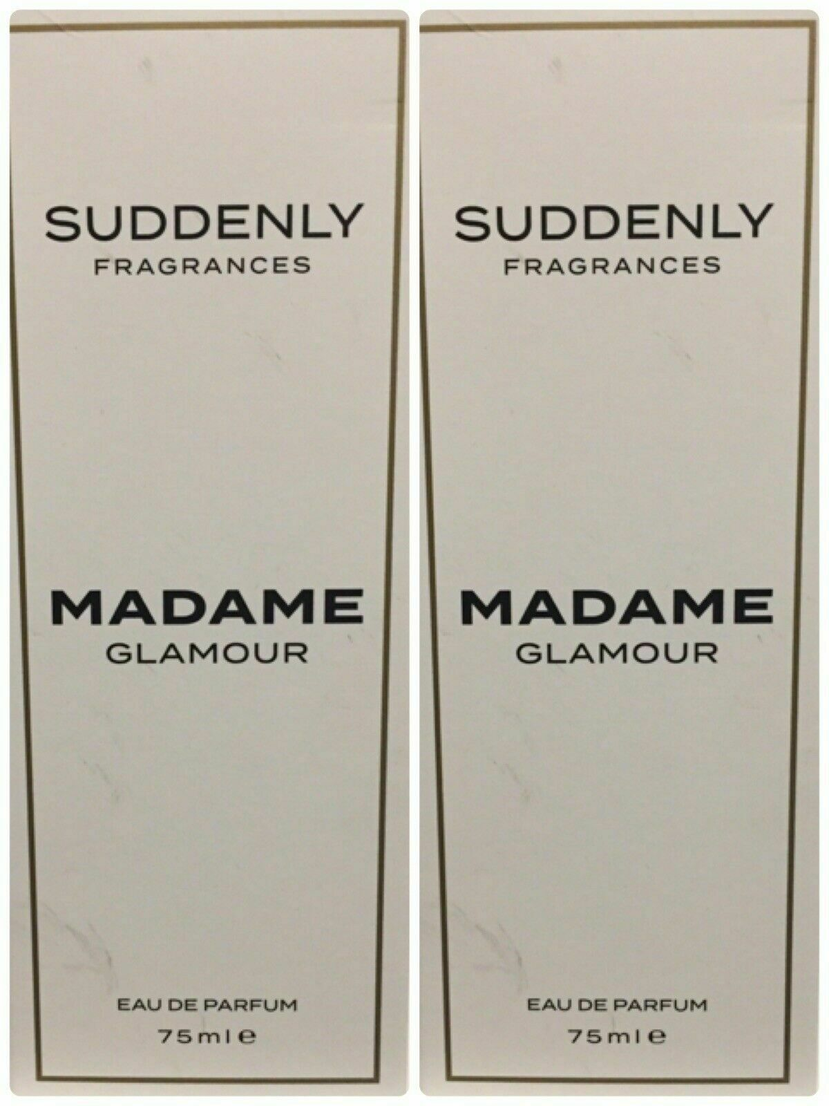 Primary image for 2 x SUDDENLY Madame Glamour Women Eau de Parfum 2x 75 ml