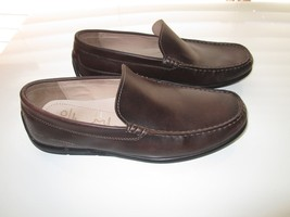 ECCO 570904 Amazing Genuine Leather Men Loafer Shoes Dark Brown 8.5E to ... - $66.49