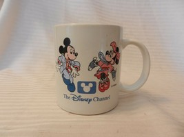 The Disney Channel Ceramic Coffee Cup Dancing Mickey & Minnie Mouse - $14.85