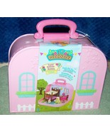 Li'l Woodzeez Travel Suitcase BUNK BED PLAYSET New - $22.88
