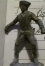 pewter Patriot soldier figurine - $5.54