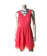 Marc by Marc Jacobs Womens Crystal Pink Silk Party Cocktail Dress Size 6  - $54.99