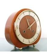 KIENINGER Mantel Clock HIGH GLOSS! 1962 RARE MODEL! Vintage 3 BAR CHIME ... - $349.00