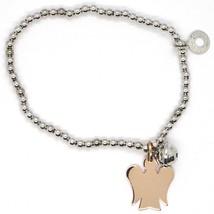 Armband Elastische aus Silber 925, Ruft Engel, Bola, Roberto Giannotti G... - $122.94