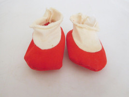 Vintage 1960's Cloth Shoes Socks Mattel Chatty Baby/ Tiny Chatty Baby - $14.99
