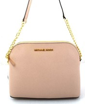 AUTHENTIC NEW NWT MICHAEL KORS LEATHER CINDY PINK BALLET CROSSBODY BAG - $75.00