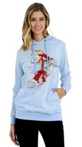 [Shop Lev] Junior Cats in the Shoe print Hoodie for girls - $9.99