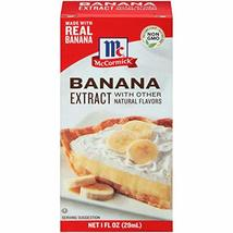 McCormick Banana Extract, 1 fl oz - $12.82