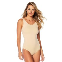 Yummie Seamless Full-Back Tank Body Suit in Frappe, 1X/2X (607672) - $28.70