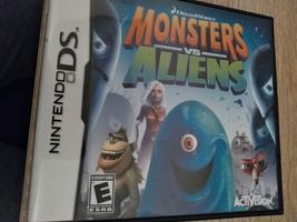 Nintendo DS Monsters vs Aliens image 1