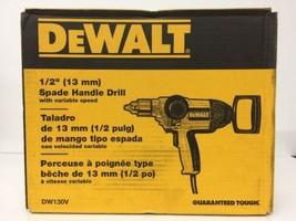 "(New) DEWALT DW130V ELECTRIC HEAVY DUTY 1/2"" 9 AMP T-HANDLE REVERSIBLE D... - $169.99"