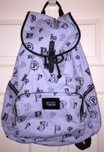 Victoria Secret~Ltd Edition~Light Blue Crest Full Size Backpack~ NWT - $84.48