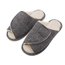Women's Extra Wide Swollen Foot Slippers, Plantar Fasciitis Orthopedic D... - $26.19