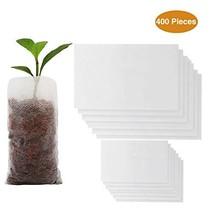 Housolution Seedlings Starter Bags, [400PCS] Biodegradable Non-Woven Nur... - $21.72
