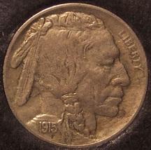 1915 Buffalo Nickel AU #0006 - $44.95