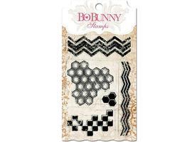 Bo Bunny Geometric Patterns Clear Stamp Set #10105758