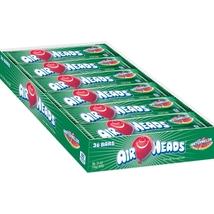 Airheads Watermelon 36 Count Candy Bulk Candies Taffy Chewy Airhead Air ... - $12.89