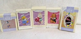 Five New Easter Hallmark Keepsake Ornaments - $24.74