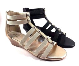 A2 by Aerosoles Here We Go Low Wedge Gladiator Sandals Choose Sz/Color - $43.20