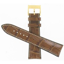 Hamilton 24mm Brown Leather American Classic JazzMaster Watch Band H6003... - $140.00