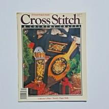 Cross Stitch & Country Crafts Magazine November December 1990  - $3.95