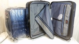 "Traveler's Choice PASADENA 2PC  Luggage Set 26"" & 22"" Hardside Spinner  Blue - $109.25"