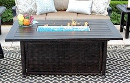 "OUTDOOR PATIO 34"" X 58"" RECTANGLE FIRE PIT TABLE - SERIES 4000 - $2,970.00"