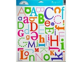 "Doodlebug Design ""Party Mix"" Cardstock Stickers, Alphabet #1360 image 1"