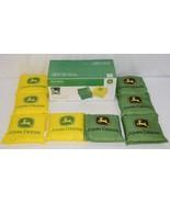 John Deere LP51451 Tournament Regulation Cornhole Bean Bags 4 Green Four... - $52.99