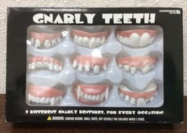 Accoutrements Gnarly Teeth, 9 Different Gnarly Dentures Vampire Geek Corpse - $12.62